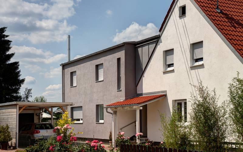 schuster architekten augsburg umbau und aufstockung. Black Bedroom Furniture Sets. Home Design Ideas