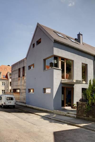 schuster architekten augsburg einfamilienhaus augsburg. Black Bedroom Furniture Sets. Home Design Ideas