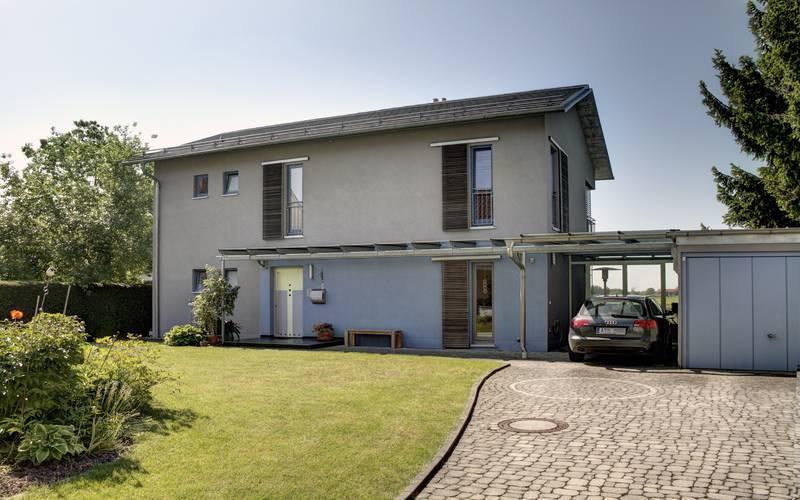 schuster architekten augsburg einfamilienhaus graben. Black Bedroom Furniture Sets. Home Design Ideas